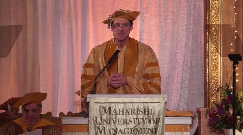 jim carrey commencement address 2014