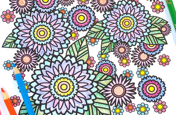 coloring is one of the best alternatives to meditation