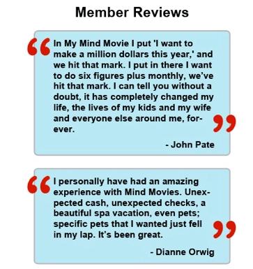 mind movies members reviews
